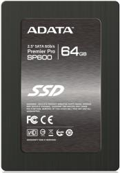 ssd adata premier pro sp600 64gb 25 sata3 photo