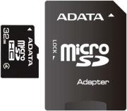 adata 32gb micro secure digital high capacity with adapter class 4 photo