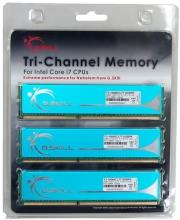 ram gskill f3 10666cl7t 6gbpk 6gb 3x2gb ddr3 pc3 10600 1333mhz pk series triple channel kit photo