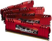 ram gskill f3 12800cl10q 32gbzl 32gb 4x8gb ddr3 pc3 12800 ripjawsz quad channel kit photo