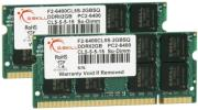 ram gskill f2 6400cl5d 4gbsq 4gb 2x2gb so dimm ddr2 pc2 6400 800mhz dual channel kit photo
