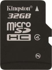 kingston sdc4 32gbsp 32gb class4 micro sdhc no adapter photo