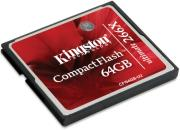kingston cf 64gb u2 64gb compact flash card ultimate 266x photo
