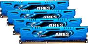 ram gskill f3 1866c10q 32gab 32gb 4x8gb ddr3 pc3 14900 1866mhz ares quad channel kit photo