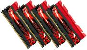ram gskill f3 2400c10q 32gtx 32gb 4x8gb ddr3 pc3 19200 2400mhz tridentx quad channel kit photo