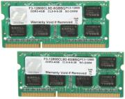 ram gskill f3 12800cl9d 8gbsq 8gb 2x4gb so dimm ddr3 pc3 12800 1600mhz dual channel kit photo