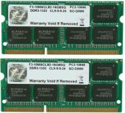 ram gskill f3 10666cl9d 16gbsq 16gb 2x8gb so dimm ddr3 pc3 10666 1333mhz dual channel kit photo