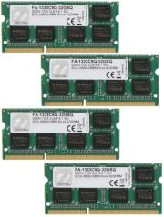 ram gskill fa 1333c9q 32gsq 32gb 4x8gb so dimm ddr3 pc3 10666 1333mhz for mac quad channel kit photo