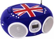 bigben cd32gb top loading cd player with radio blue photo