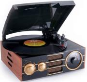 bigben td101 turntable with radio photo