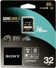 sony sf32u 32gb sdhc uhs 1 class 10 photo