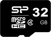 silicon power 32gb micro sdhc class 4 photo
