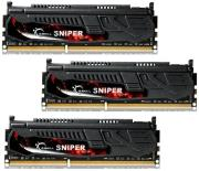 ram gskill f3 12800cl9t 12gbsr2 12gb 3x4gb ddr3 pc3 12800 1600mhz sniper triple channel kit photo