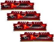 ram gskill f3 12800cl9q 16gbxl 16gb 4x4gb ddr3 pc3 12800 1600mhz ripjawsx quad channel kit photo
