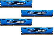 ram gskill f3 1600c8q 16gab 16gb 4x4gb ddr3 pc3 12800 1600mhz ares quad channel kit photo