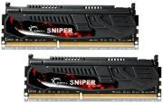 ram gskill f3 12800cl9d 8gbsr1 8gb 2x4gb ddr3 pc3 12800 1600mhz sniper dual channel kit photo