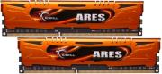 ram gskill f3 1600c9d 8gao 8gb 2x4gb ddr3 pc3 12800 1600mhz ares dual channel kit photo