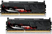 ram gskill f3 17000cl11d 8gbsr 8gb 2x4gb ddr3 pc3 17000 2133mhz sniper dual channel kit photo