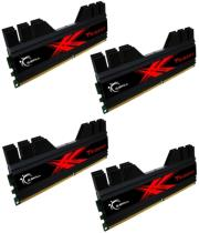 ram gskill f3 2400c10q 16gtd 16gb 4x4gb ddr3 pc3 19200 2400mhz trident quad channel kit photo