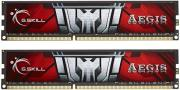 ram gskill f3 1600c11d 8gisl 8gb 2x4gb ddr3 1600mhz aegis dual channel kit photo