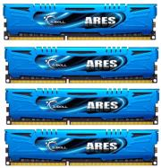 ram gskill f3 2400c11q 32gab 32gb 4x8gb ddr3 2400mhz ares lp quad channel kit photo