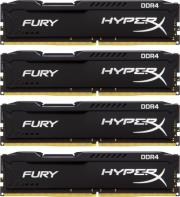 ram hyperx hx421c14fbk4 16 16gb 4x4gb ddr4 2133mhz hyperx fury black series quad channel kit photo