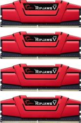 ram gskill f4 2400c15q 16gvr 16gb 4x4gb ddr4 2400mhz ripjaws v quad channel kit photo