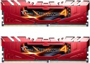 ram gskill f4 2666c15d 8grr 8gb 2x4gb ddr4 2666mhz ripjaws 4 red dual channel kit photo
