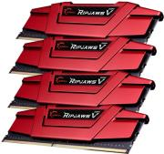 ram gskill f4 2800c15q 16gvr 16gb 4x4gb ddr4 2800mhz ripjaws v quad channel kit photo