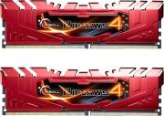ram gskill f4 2800c16d 16grr 16gb 2x8gb ddr4 2400mhz ripjaws 4 red dual channel kit photo