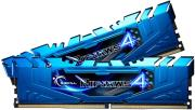 ram gskill f4 3000c15d 16grbb 16gb 2x8gb ddr4 3000mhz ripjaws 4 blue dual channel kit photo