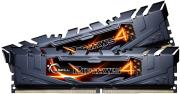 ram gskill f4 3000c15d 8grk 8gb 2x4gb ddr4 3000mhz ripjaws 4 black dual channel kit photo