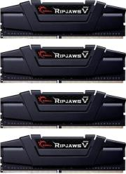 ram gskill f4 3466c16q 16gvk 16gb 4x4gb ddr4 3466mhz ripjaws v quad channel kit photo