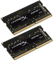 ram hyperx hx424s14ibk2 8 8gb 2x4gb so dimm ddr4 2400mhz cl14 hyperx impact dual kit photo