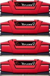 ram gskill f4 2800c15q 64gvr 64gb 4x16gb ddr4 2800mhz ripjaws v quad channel kit photo