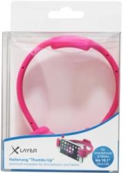 xlayer stand colour line thumbs up pink photo