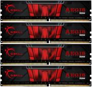 ram gskill f4 2133c15q 16gis 16gb 4x4gb ddr4 2133mhz aegis quad channel kit photo