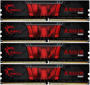 ram gskill f4 2400c15q 64gis 64gb 4x16gb ddr4 2400mhz aegis quad channel kit photo