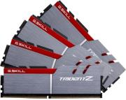 ram gskill f4 3000c14q 64gtz 64gb 4x16gb ddr4 3000mhz trident z quad channel kit photo