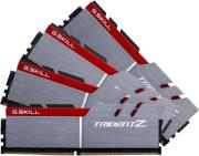 ram gskill f4 3400c16q 64gtz 64gb 4x16gb ddr4 3400mhz trident z quad channel kit photo