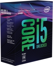 cpu intel core i5 8600k 360ghz lga1151 box photo
