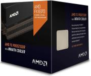 cpu amd fx 8370 40ghz 8 core with wraith cooler box photo