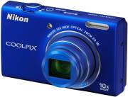 nikon coolpix s6200 blue photo