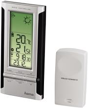 hama 104931 ews 280 electronic weather station black silver photo