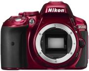 nikon d5300 body red photo