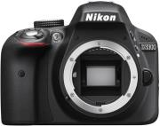nikon d3300 body black photo