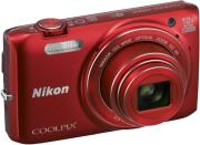 nikon coolpix s6800 red photo