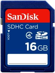 sandisk 16gb secure digital hc class 4 sdsdb 016g b35 photo