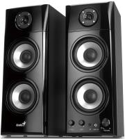 genius sp hf1800a 50w 3 way hi fi wood speakers photo