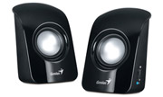genius sp u115 stereo usb powered speakers photo